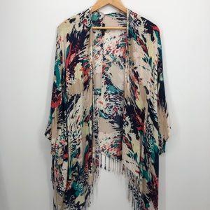 Tart beach cover-up kimono